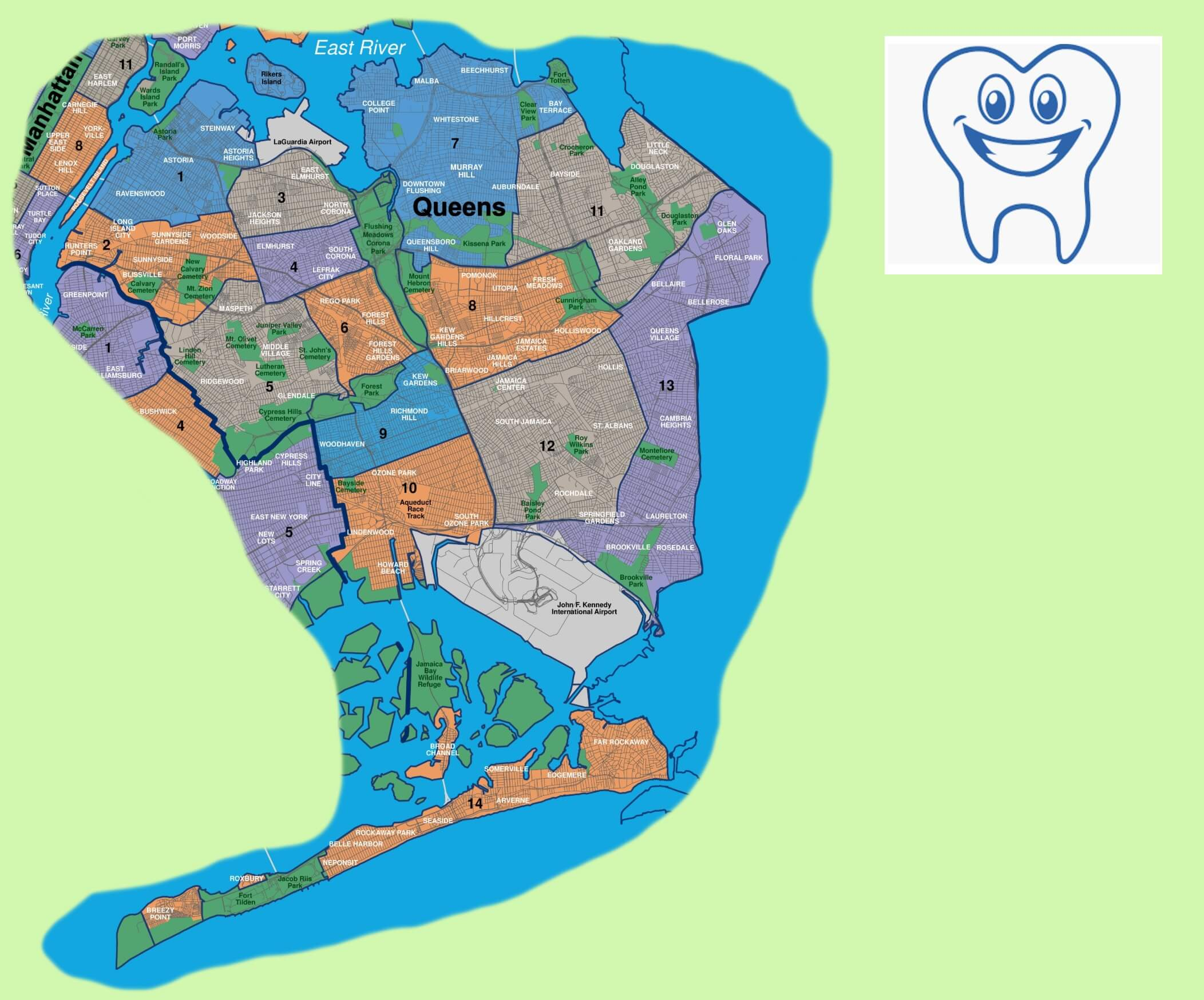 Top 10 Emergency Dentists in Queens, New York | News | Dentagama