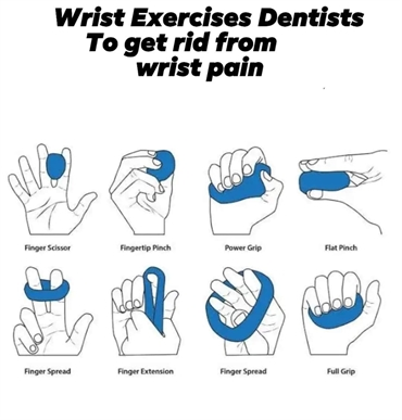 Wrist exercises for dentists
