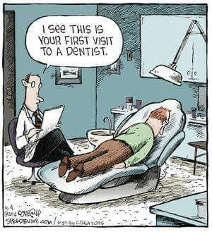 First visit at the dentist