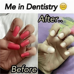 Manicure in dentistry