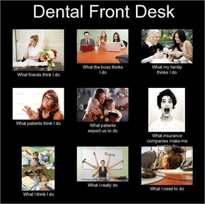 Dental receptionist joke