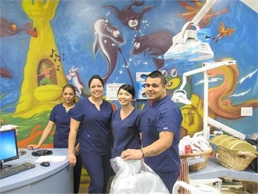 Mural paintings kids will love at Magic Smiles Phoenix
