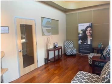 Waiting area at Irving dentist Erickson Dental