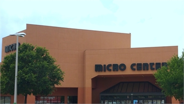 Micro Center at 6 minutes drive to the south of Meredith G. Davis DDS