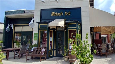 Michael's Grill at 4 minutes drive to the south of Tampa dentist Carrollwood Smiles