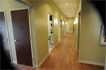 Hallway at our family dentistry in Salisbury NC