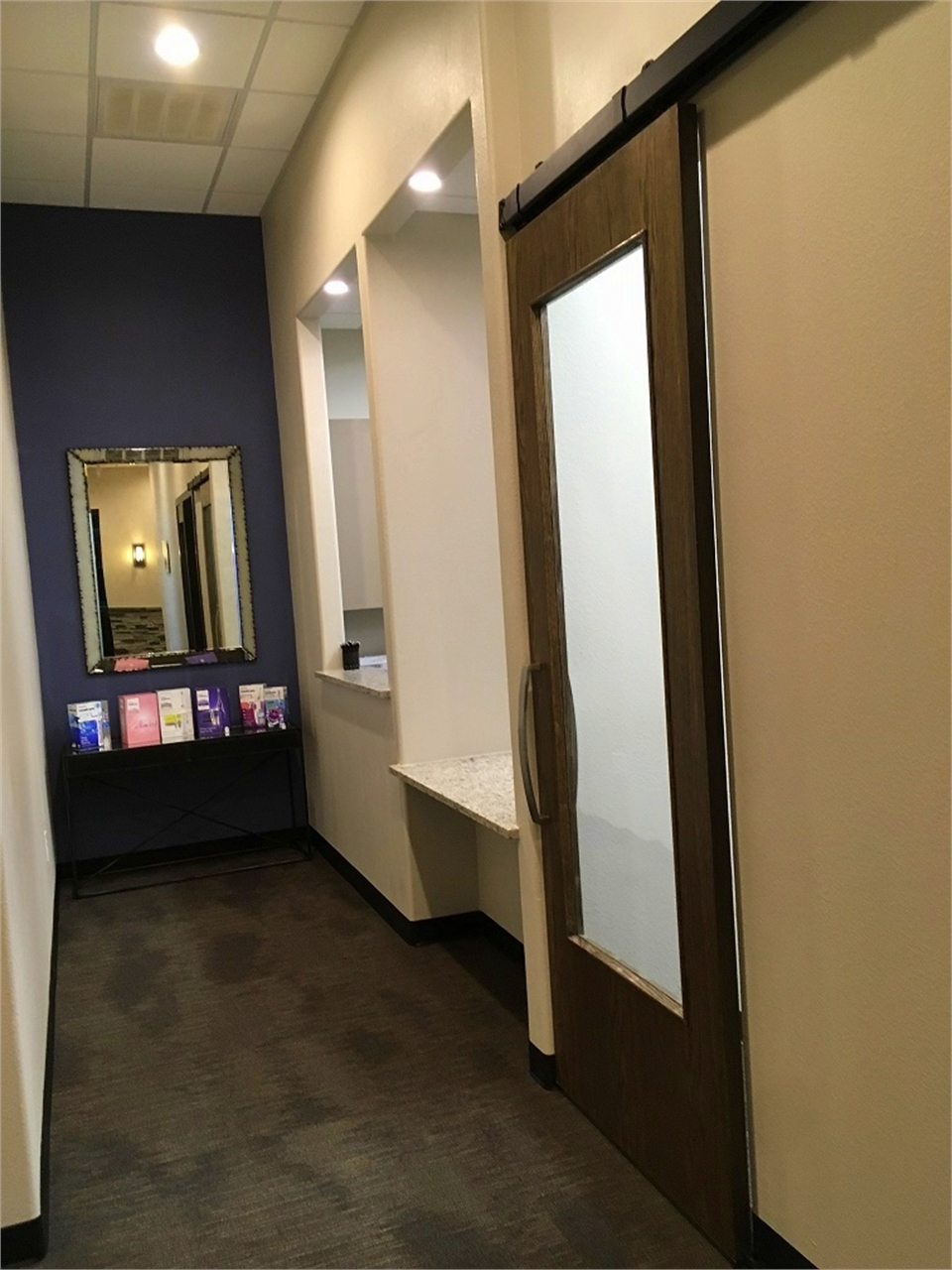 Front desk at our cosmetic dentistry office located just a few ...
