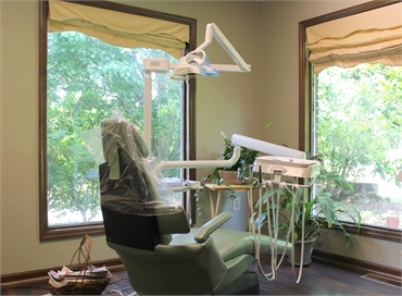 Hygiene room at our implant dentistry in Huntsville AL