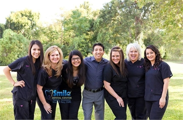 Dr. Mario Pary and his team of dental hygienists
