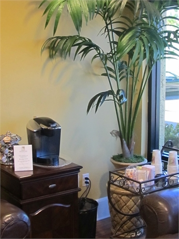 Refreshments at our orthodontic care office in Bonita Springs FL
