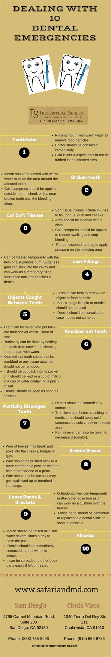 10 Dental Emergencies