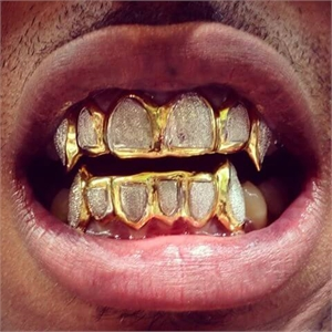 Bling bling teeth grillz are removable appliances worn by hip hop artists