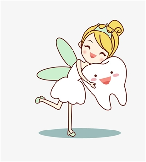 Tooth fairy lady