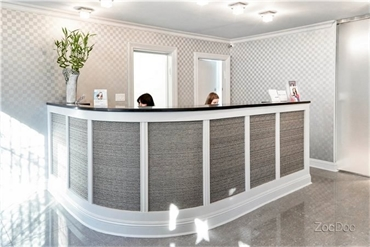 Pleasant front desk staff at our laser dentistry office in Greenwich Village