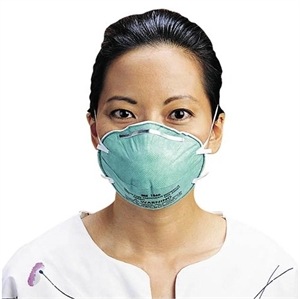 Respirator mask protects against airborne pathogens. N95 mask is used by those, who handle toxic materials, but it makes it more difficult to breathe