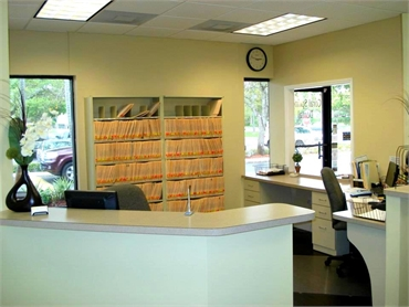 Account office at Smile Design Dental  just near The Plaza at Coral Springs II