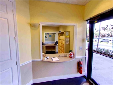 front office at Smile Design Dental