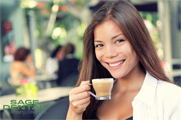 How To Avoid Coffee Stained Teeth by Sage Dental