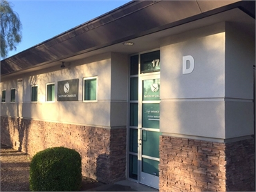 exterior view of orthodontic dentistry office just 10 minutes away from Chandler Center for the Arts