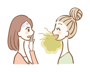 What does bad breath treatment consist of?