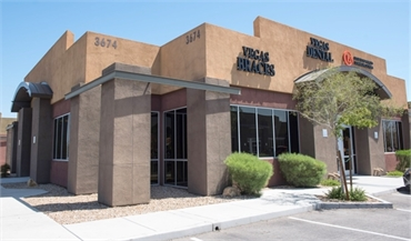 Exterior view of our dentistry in Las Vegas NV just 3.3 miles to the east of McCarran International