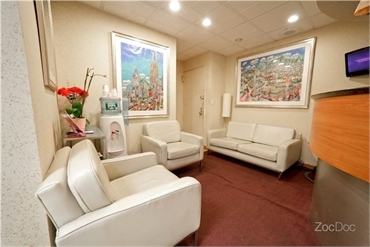 Waitig lounge at 54th Street Dental located right oppsite The Museum of Modern Art Midtown Manhattan