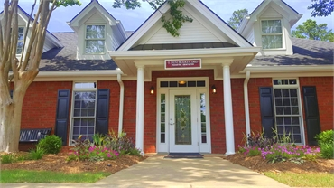 Entrance to our sedation and pediatric dentistry in Watkinsville GA