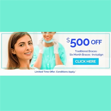 SpecialOffer on Orthodontics at New Haven dental clinic Shoreline Dental Care