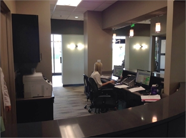 Accounts office at Gordon Dental Kansas City MO