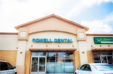 Entrance to Powell Family Dental Care Portland OR 97266