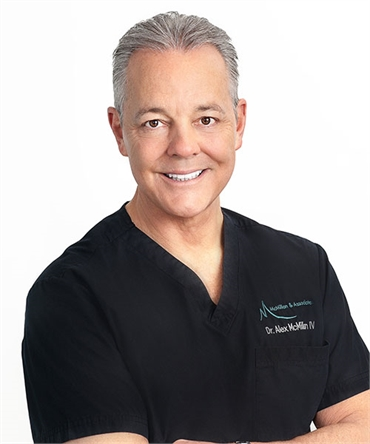 Burke Cosmetic dentist Dr. Alex McMillan at Burke Centre Dental Arts