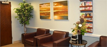 Waiting Area of Burke dentist Burke Centre Dental Arts