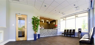 waiting area at Potomac Family Dental
