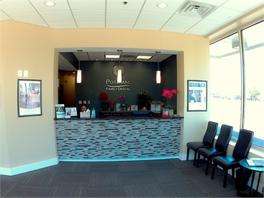 front desk at Potomac family dental