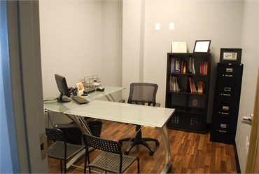 Consultation room at Potomac Family Dental