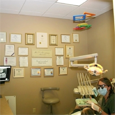 Accolades display at Long Valley dentist Cazes Family Dentistry LLC
