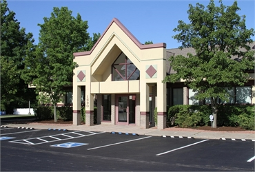 Outside view of dental implants center Chapel Hill Dental Care Akron OH