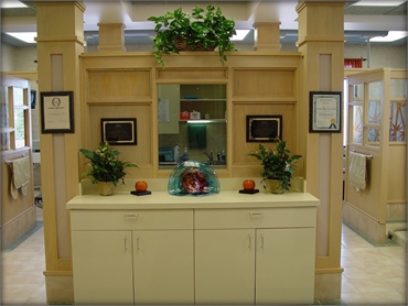 Accolade display at Chapel Hill Dental Care Akron  OH