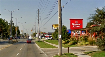 Boston Pizza located just near Uptown Guelph Dental
