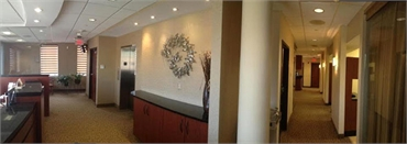 interiors of our dental office in Alexandria VA