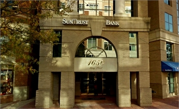 SunTrust Bank ATM located near Alexandria dentist Alonzo M. Bell DDS