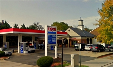 Exxon Gas Station on 501 S Washington St located near Alonzo Bell DDS