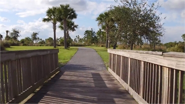 Wellington Environmental Preserve 8 miles to the south of Wellington FL dentist Steven M Miller DDS