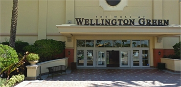 The Mall at Wellington Green 9 minutes to the west of Wellington FL dentist Steven M. Miller DDS