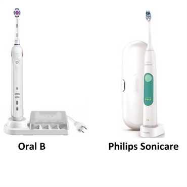 Oral B vs Philips Sonicare Toothbrush