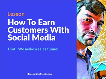 How to earn customers using Social Media.