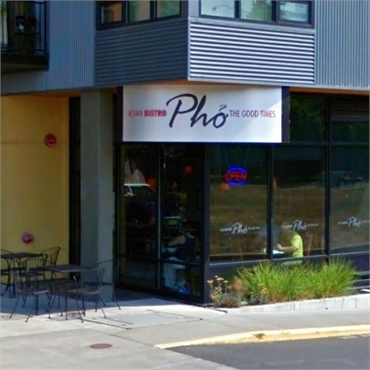 Pho The Good Times Asian Bistro located 3miles to the east of Eugene dentist Harmony Dental