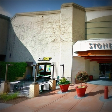 Stoneridge Shopping Center 9 minutes drive to the west of Dublin CA dentist Persimmon Dental Care