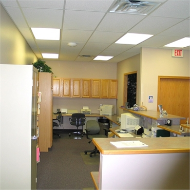 Front office and checkout department at the office of Clinton Township dentist Michael J Aiello DDS