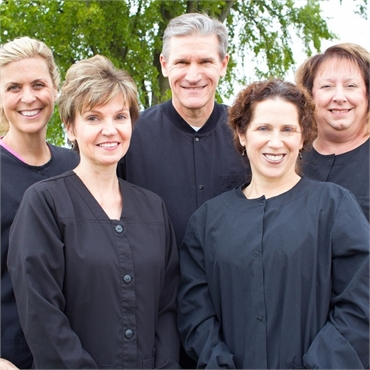 Clinton Township Dental implant specialist Dr. Michael Aiello and his team